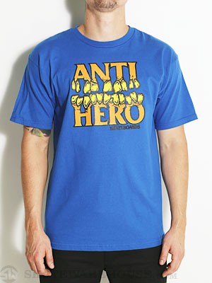 Anti Hero Tooth Hero Tee Royal SM