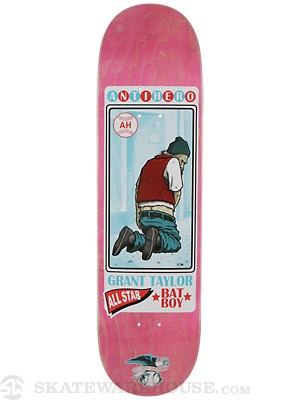 Anti Hero Taylor Vagrant All Stars Deck  8.25 x 32