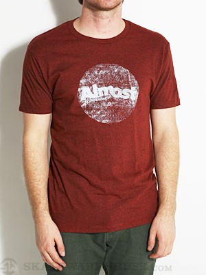 Almost Crusty Circle Tee Brick Black Heather SM