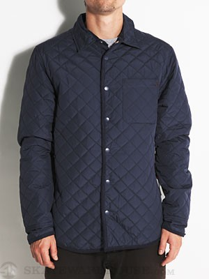 Altamont Defector Quilted Shirt Navy LG