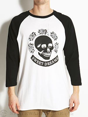 Altamont Death Rose 3/4 Sleeve Raglan Bone LG