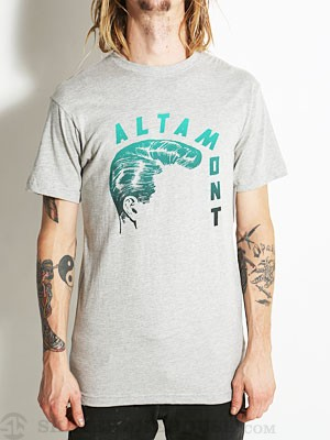 Altamont Hair Cut Tee Heather Grey SM