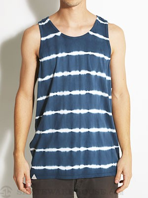 Altamont White Lines Tank Top Blue LG