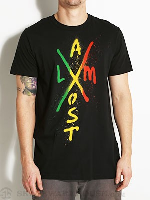 Almost X-Mark Tee Black SM