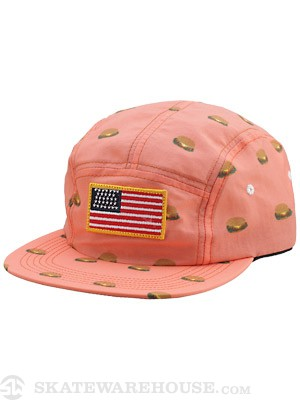 ambsn Californ 5 Panel Hat Pink Adjust