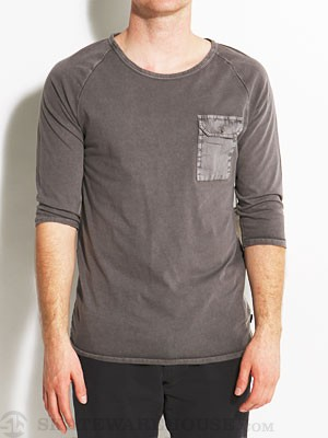 Ambig Niels Knit 3/4 Sleeve Shirt Charcoal MD