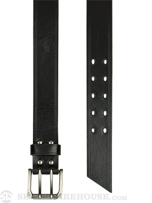 Armourdillo Rig Leather Belt Black LG