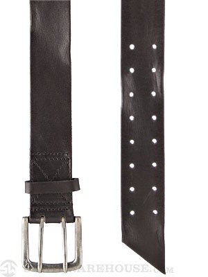 Armourdillo Tanner Leather Belt Black Small