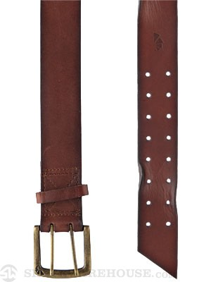 Armourdillo Tanner Leather Belt Brown SM