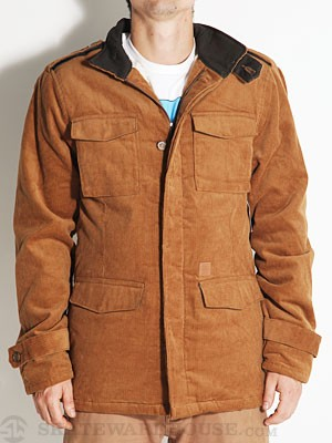 Altamont Grift Jacket Brown SM