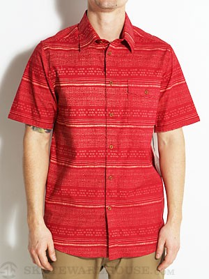 Altamont Fielder S/S Woven Shirt Red SM