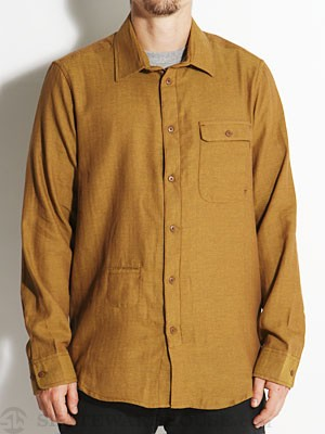 Altamont Operate Woven Shirt Brown SM