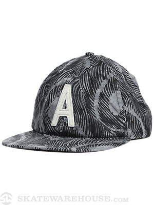 Altamont Peacock Ball Cap Black
