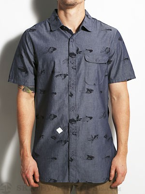 Altamont Walle S/S Woven Shirt Denim SM