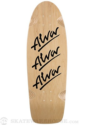 Alva Tri Logo Re-Issue Deck  10.5 x 29.75