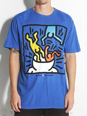 AWS x Haring Head Change Tee Royal/RYL SM