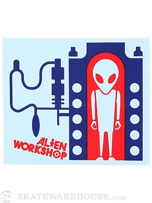 Alien Workshop Incubator Sticker