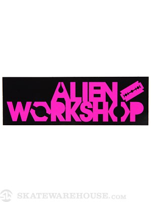 Alien Workshop My War Sticker
