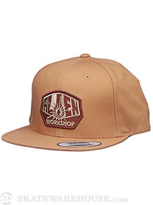Alien Workshop OG Logo Snapback Hat Caramel