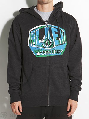 Alien Workshop OG Shift Hoodzip Charcoal/CHH SM