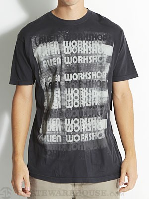 Alien Workshop Ruler Tee Black SM
