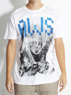 Alien Workshop Utopia Tee White MD