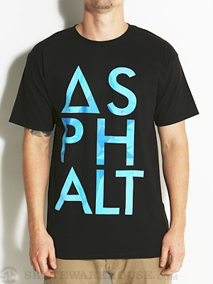 Asphalt Ice Knockout Tee Black SM