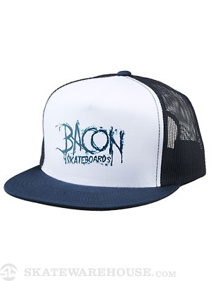 Bacon Walter Mesh Hat Navy/White Adjust