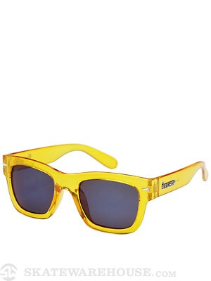 Brigada Big Shot Sunglasses  Electric Yellow/Blue