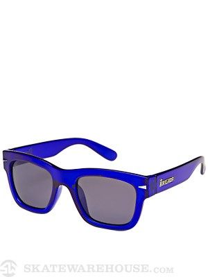 Brigada Big Shot Sunglasses  Clear Blue/Blue Lens