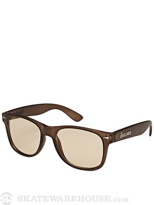 Brigada Lawless Sunglasses  Frost Brown/Clear Lens
