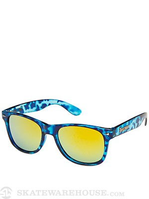 Brigada Lawless Sunglasses  Navy Tortoise/Orange Lens
