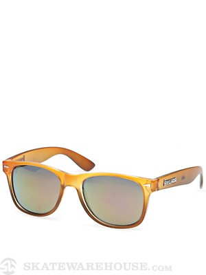 Brigada Lawless Sunglasses  Orange/Brown Fade/Red
