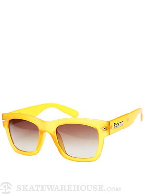 Brigada Big Shot Sunglasses  Orange Frost
