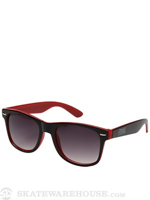 Baker Brand Logo Sunglasses Black/Red