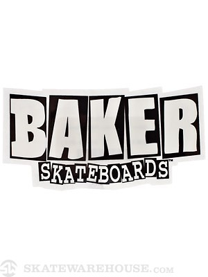Baker Brand Logo Sticker Small