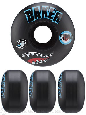 Baker Bomber Black Wheels 51mm