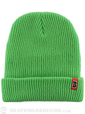 Baker Double Down Beanie Neon Green