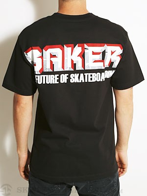 Baker Future Tee Black SM