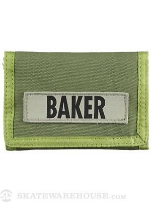 Baker Infantry Wallet Green