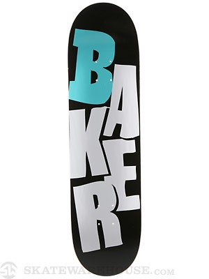 Baker Stacked Reset Black/Blue Deck  8.25 x 31.875