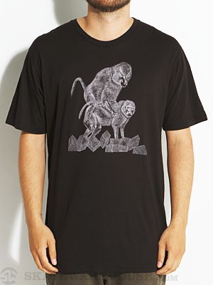 Baker Ride It Out Tee Black SM