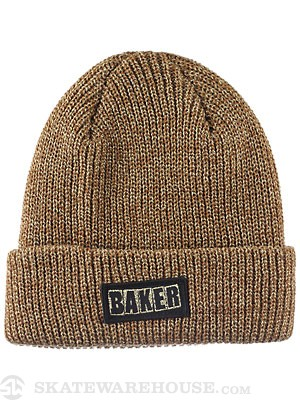 Baker Simpleton Beanie Heather Brown