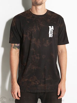 Baker Stacked Tee Black/Tan MD