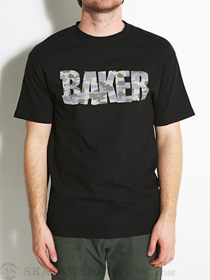 Baker Unboxed Tee Black/Camo MD