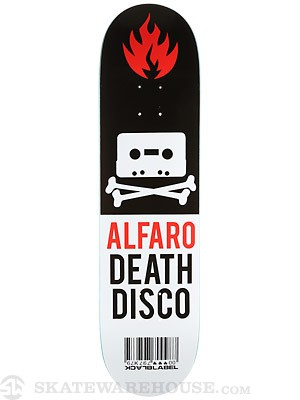 Black Label Alfaro Death Disco Deck  8.12 x 31.88