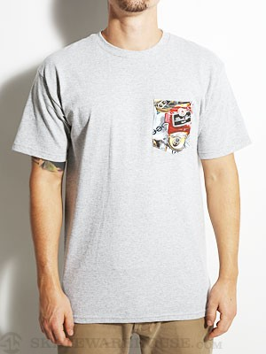 Black Label Beercan Beach Tee Athletic Heather MD