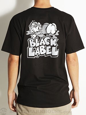 Black Label Chain Gang Tee Black SM