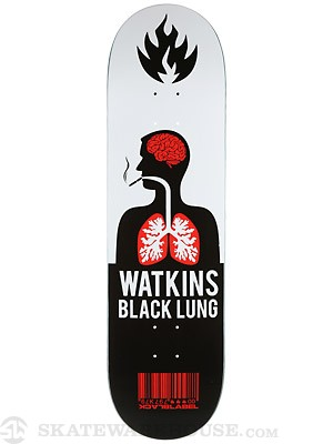 Black Label Watkins Black Lung Deck  8.68 x 32.63