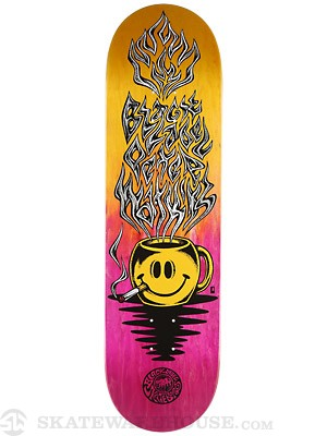 Black Label Watkins Coffee Deck 8.68 x 32.63